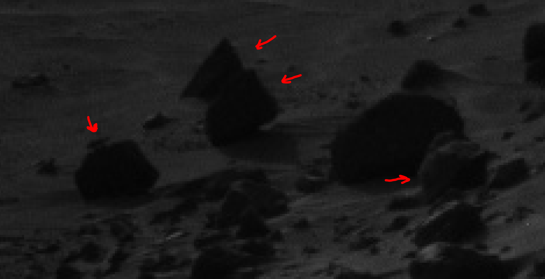 mars sol 1405 anomaly artifacts 22 was life on mars