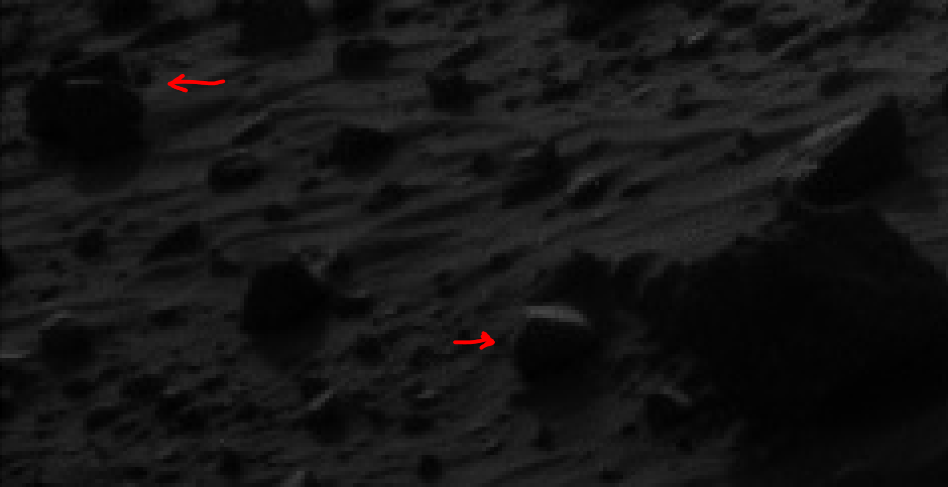 mars sol 1405 anomaly artifacts 23 was life on mars