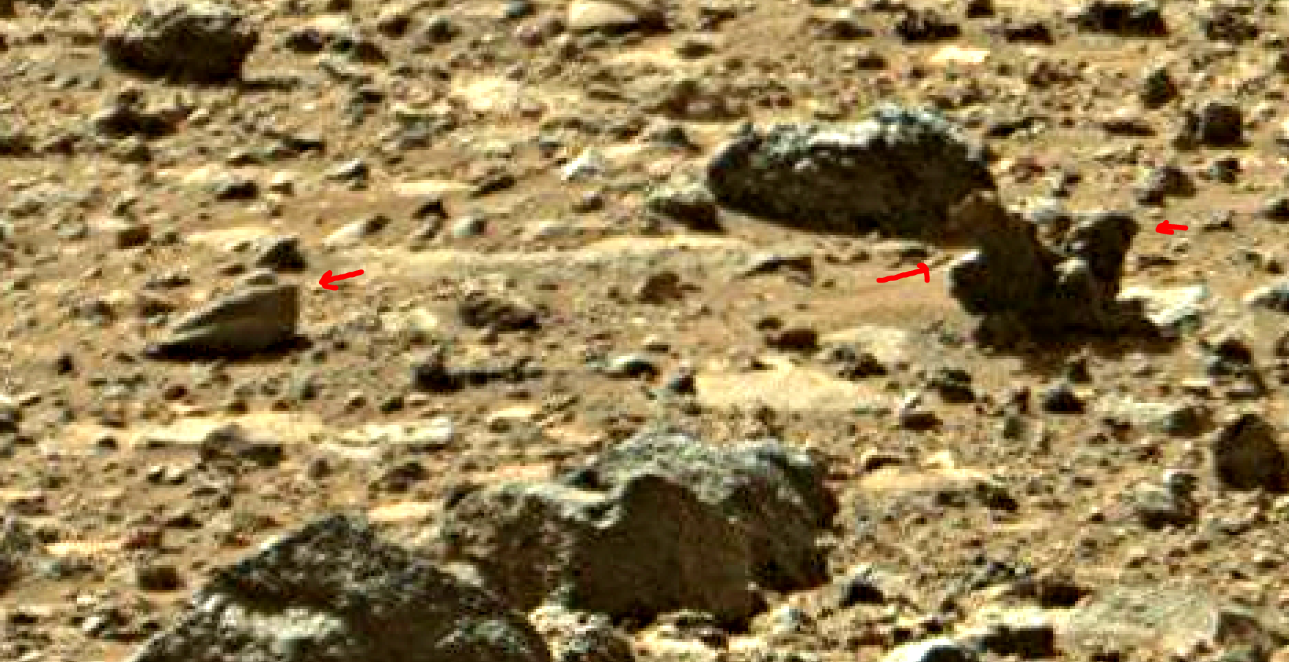 mars sol 1405 anomaly artifacts 5a was life on mars