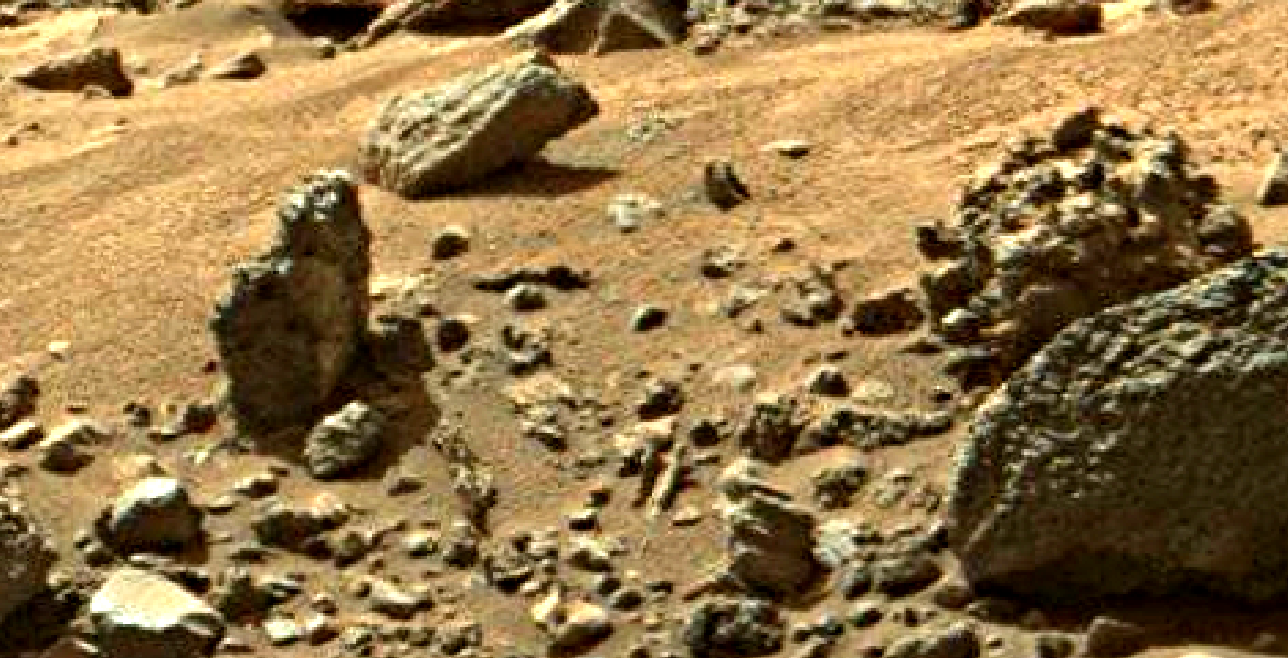 mars sol 1405 anomaly artifacts 6 was life on mars