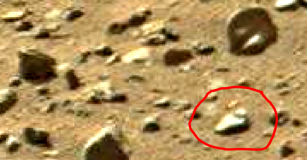 mars sol 1405 anomaly artifacts 8a1 was life on mars