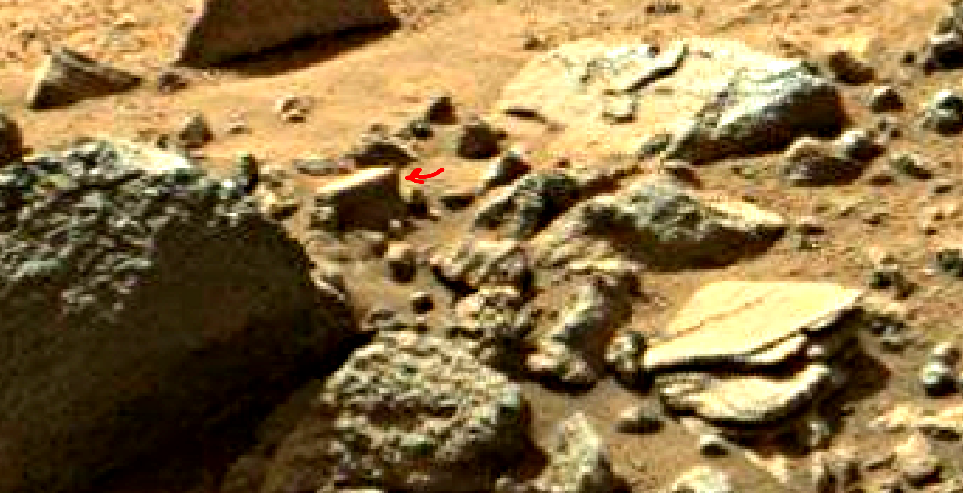 mars sol 1405 anomaly artifacts 9 was life on mars