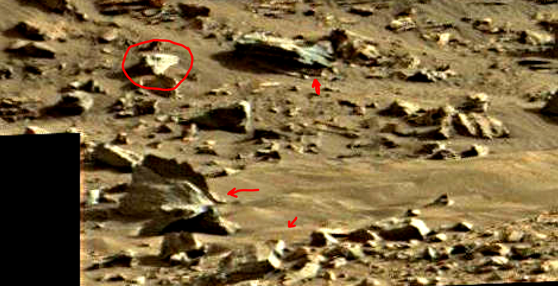 mars sol 1419 anomaly artifacts 16 was life on mars