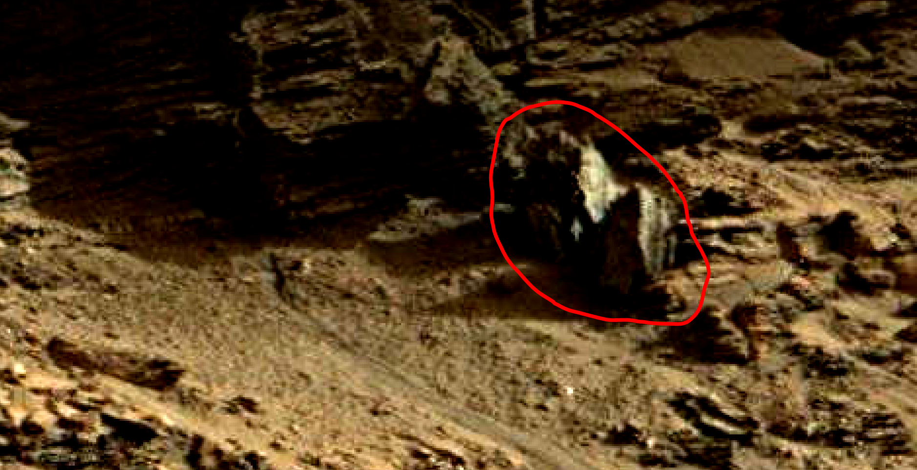 mars sol 1419 anomaly artifacts 17 was life on mars