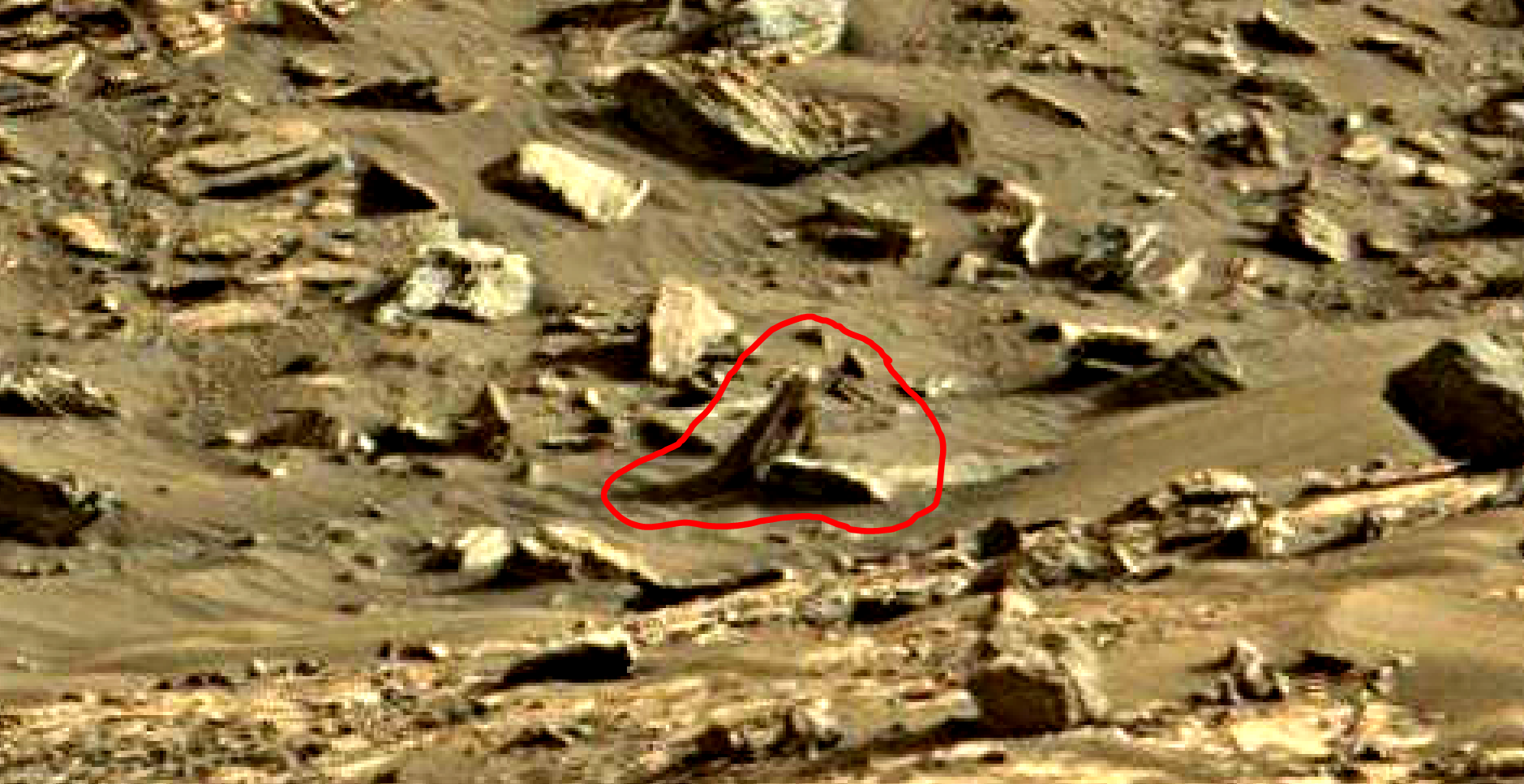 mars sol 1419 anomaly artifacts 18 was life on mars