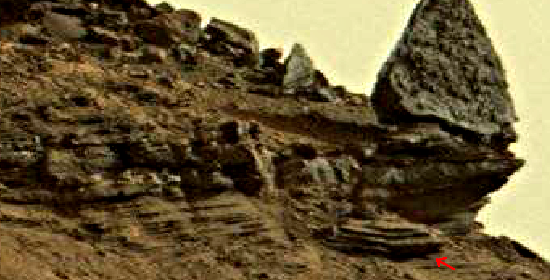 mars sol 1419 anomaly artifacts 3 was life on mars