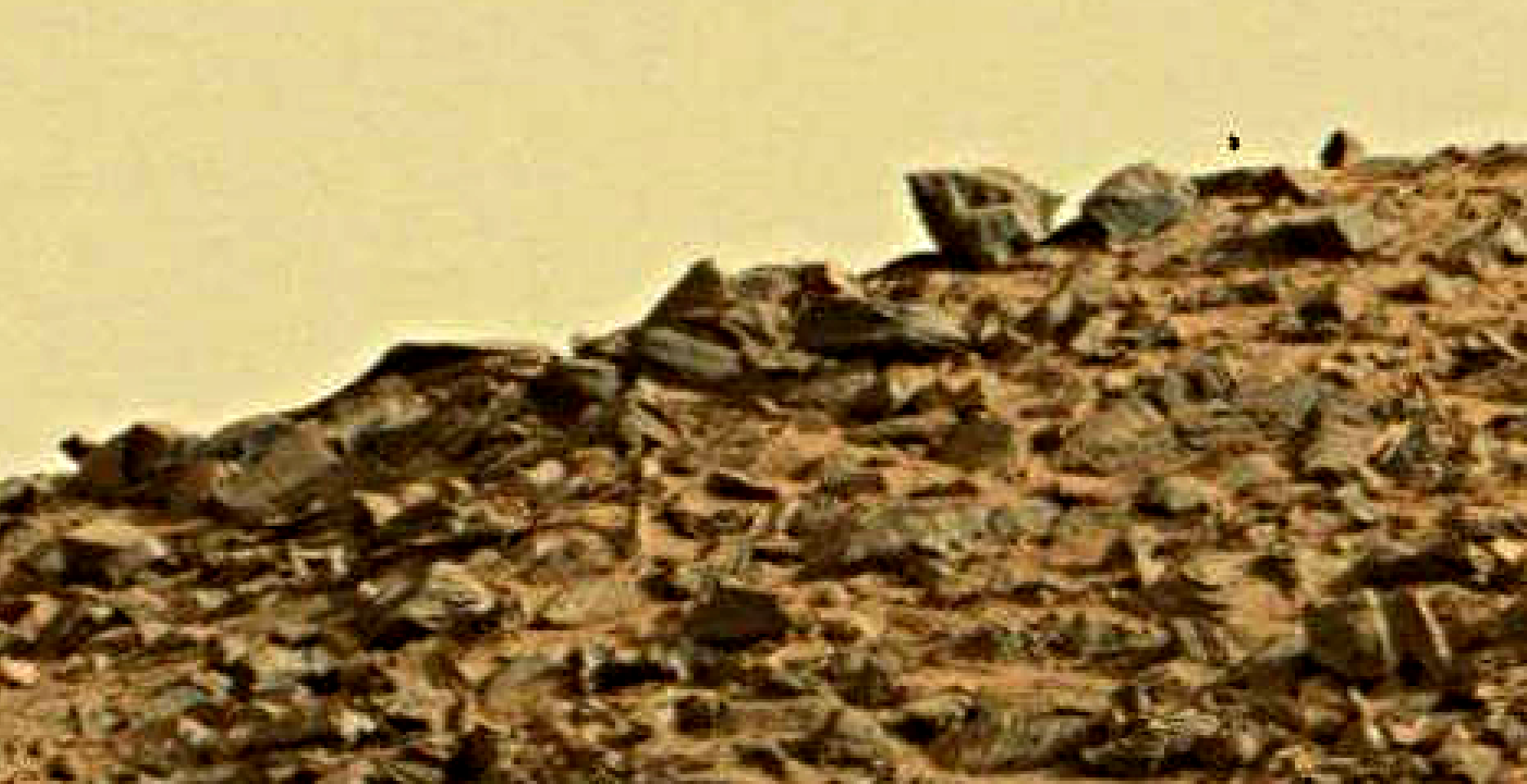 mars sol 1419 anomaly artifacts 5 was life on mars