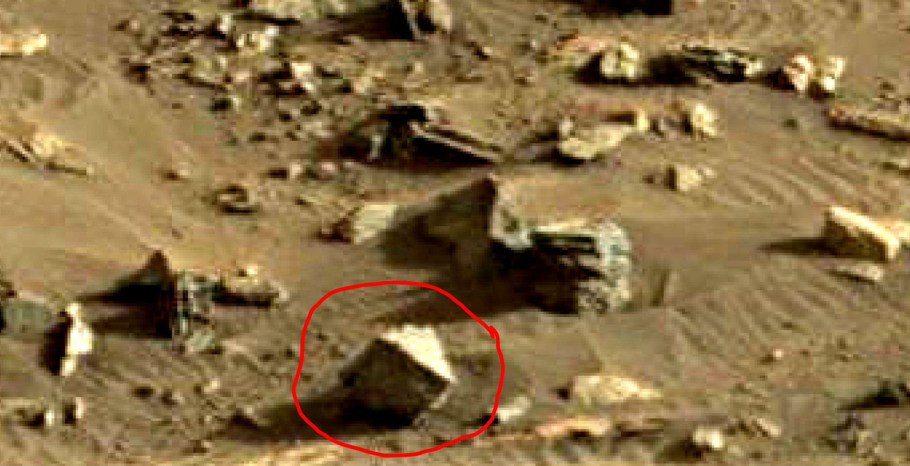 mars sol 1419 anomaly artifacts 9 was life on mars