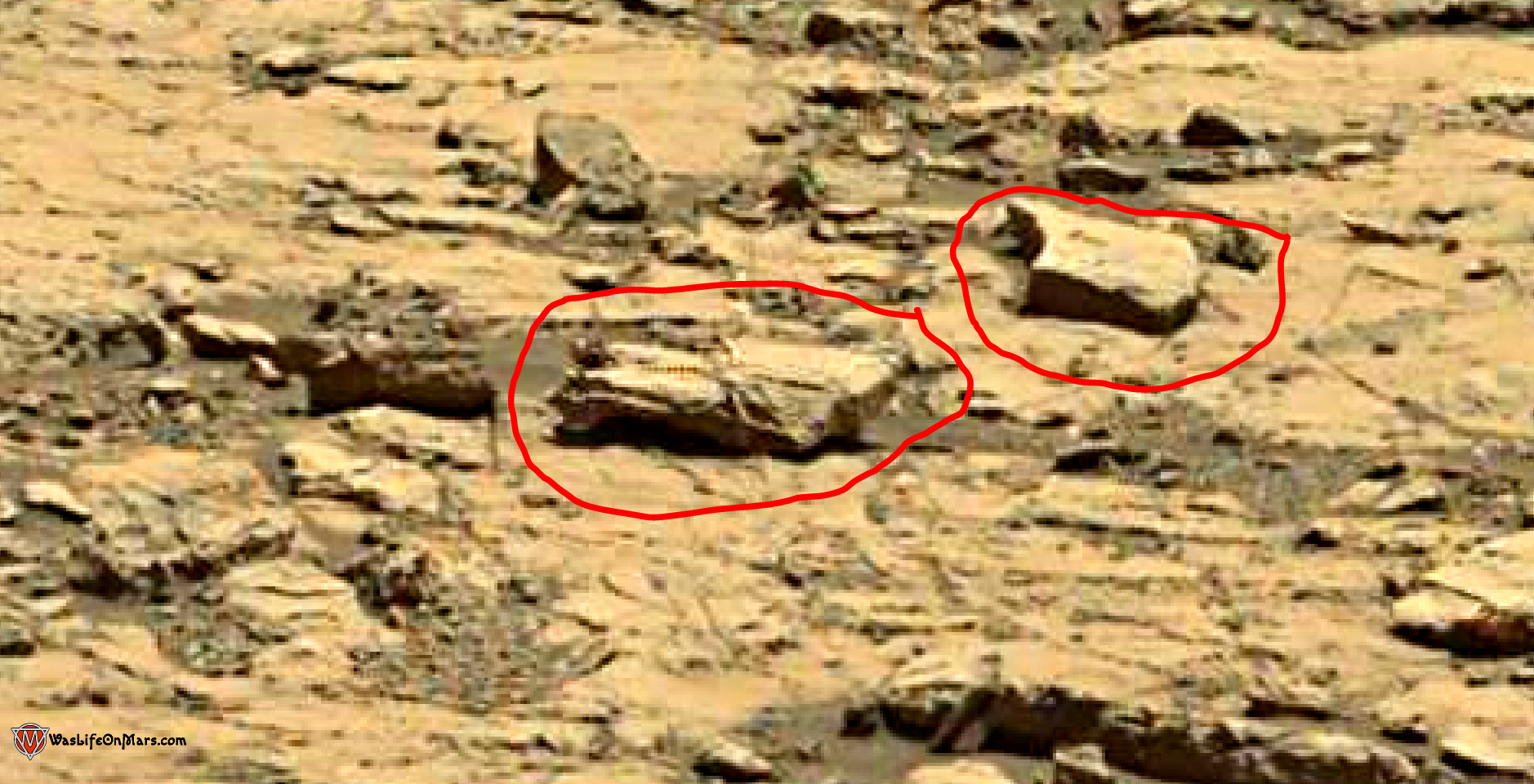 mars sol 1428 anomaly artifacts 1a - the spider - was life on mars