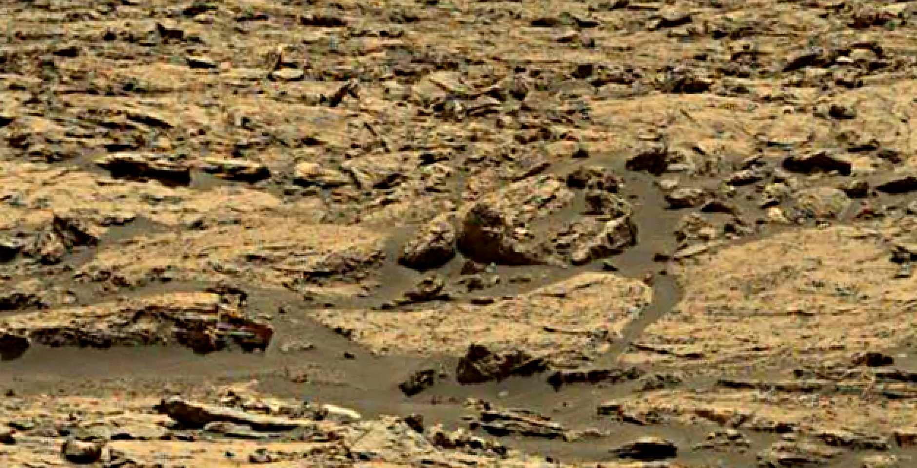 mars sol 1428 anomaly artifacts 3 was life on mars