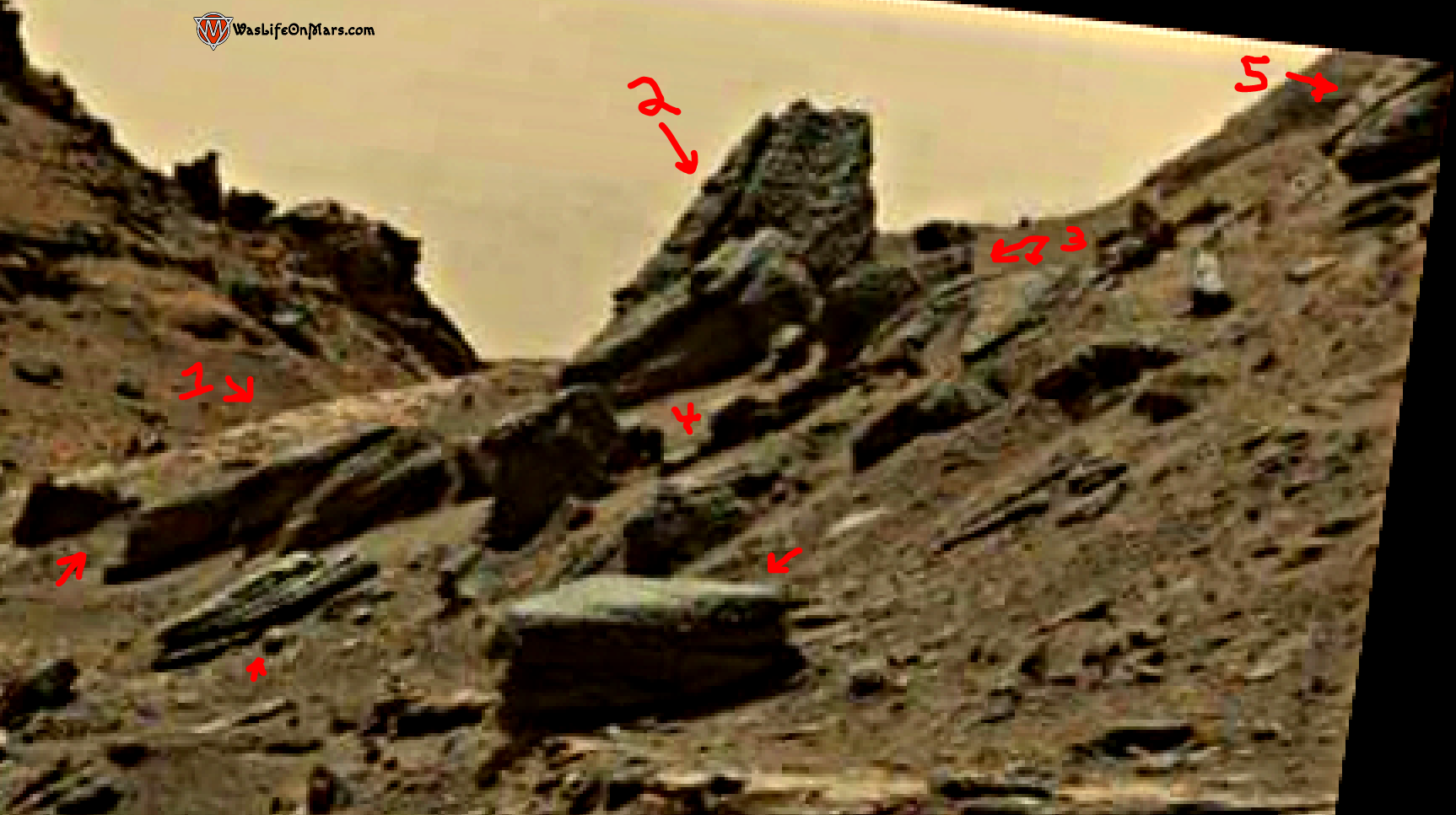 mars sol 1428 anomaly artifacts 4a - aircraft - was life on mars