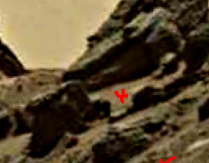 mars sol 1428 anomaly artifacts 4a4 - aircraft - was life on mars