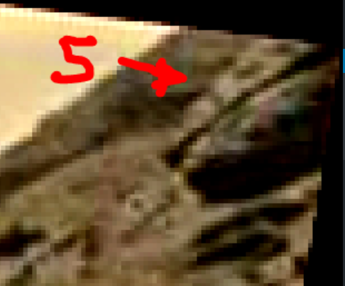 mars sol 1428 anomaly artifacts 4a5 - aircraft - was life on mars