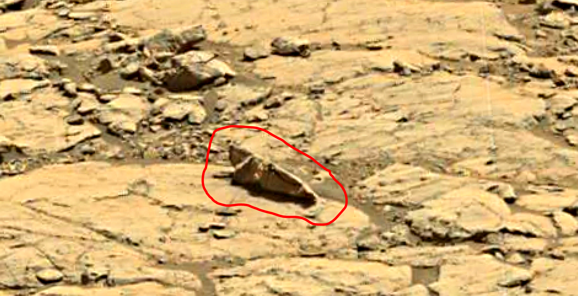 mars sol 1428 anomaly artifacts 5a was life on mars