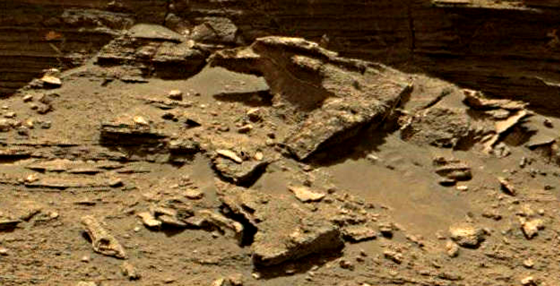 mars sol 1433 anomaly artifacts 1 was life on mars