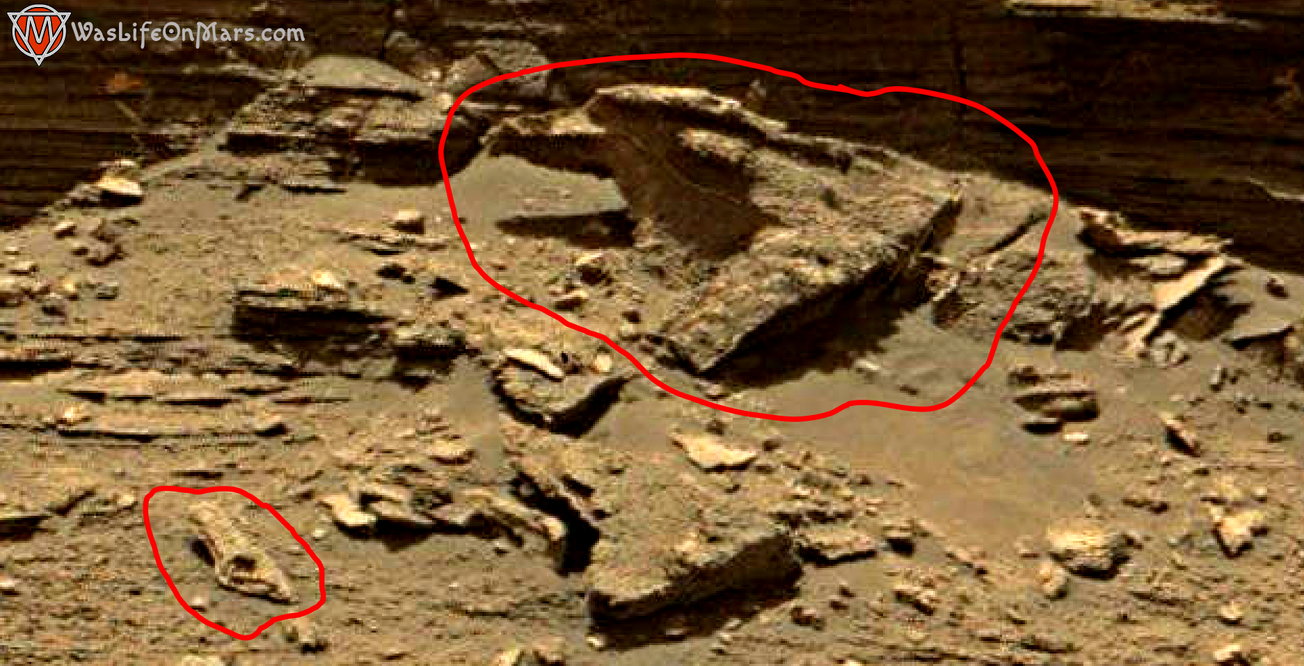 mars sol 1433 anomaly artifacts 1a was life on mars