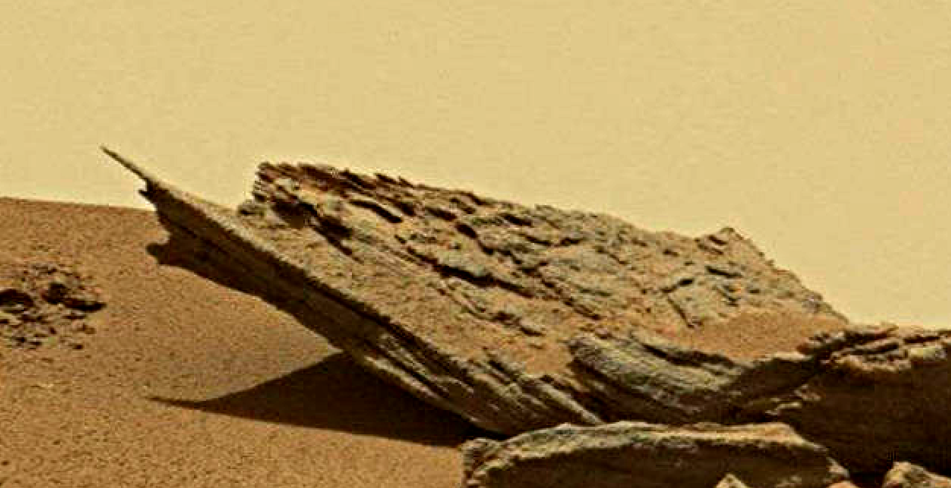 mars sol 1433 anomaly artifacts 2 was life on mars
