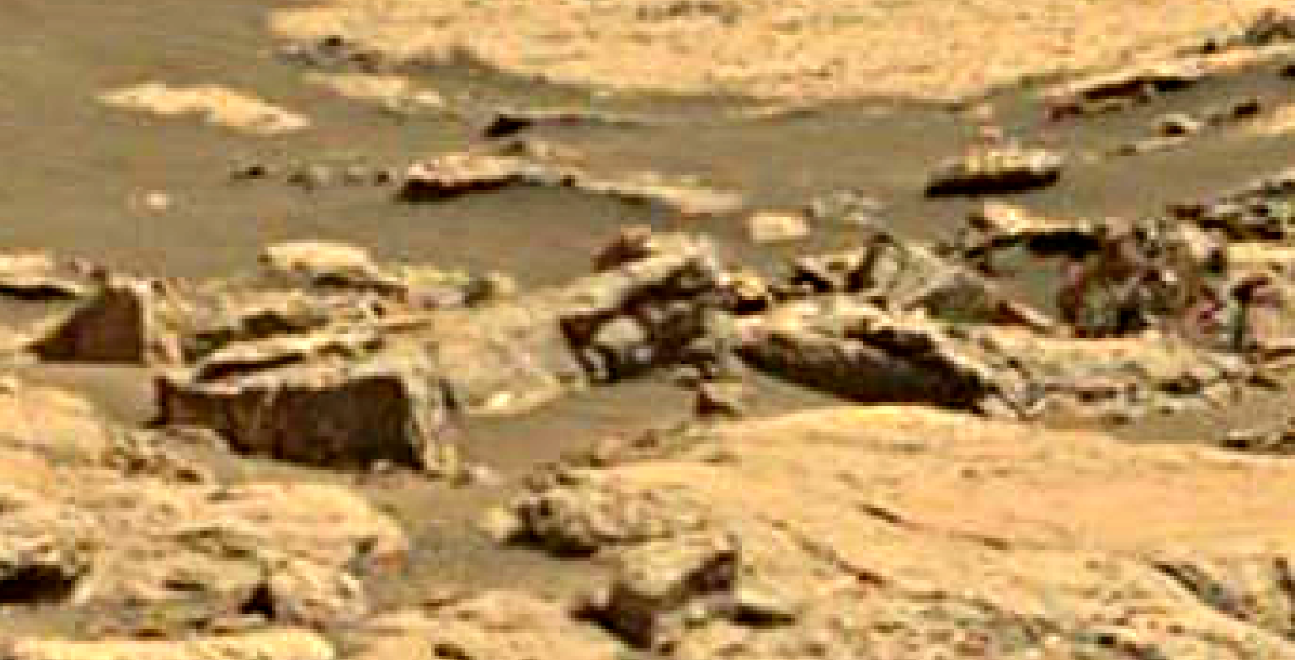mars sol 1433 anomaly artifacts 3 was life on mars