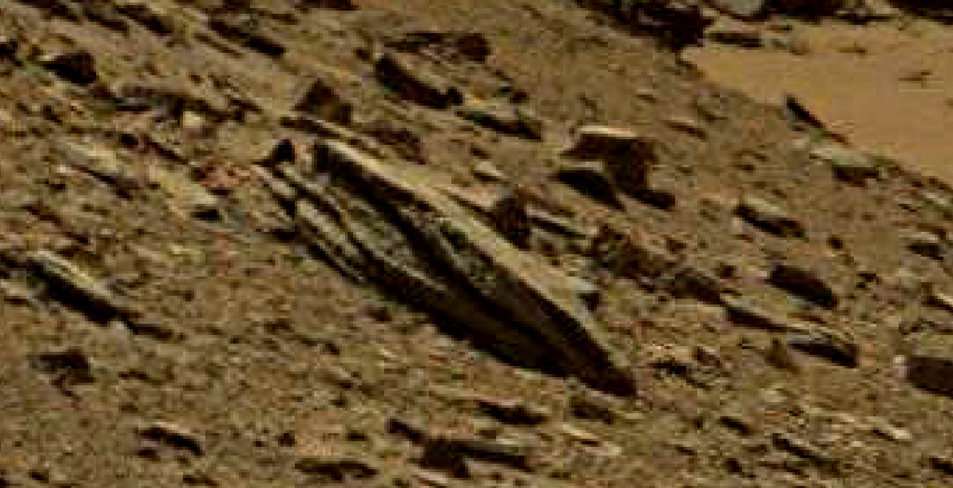 mars sol 1434 anomaly artifacts 1 was life on mars