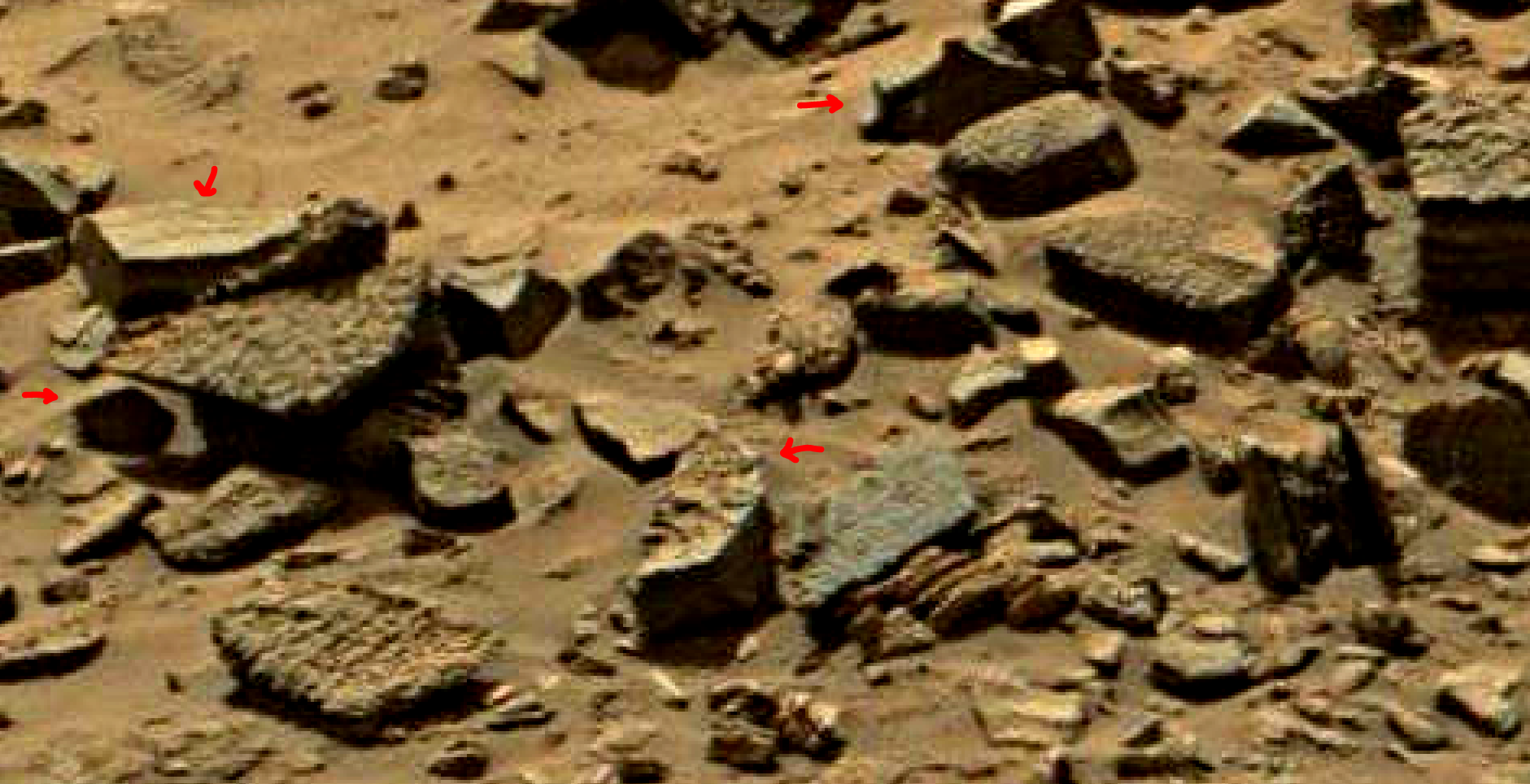 mars sol 1434 anomaly artifacts 11 was life on mars