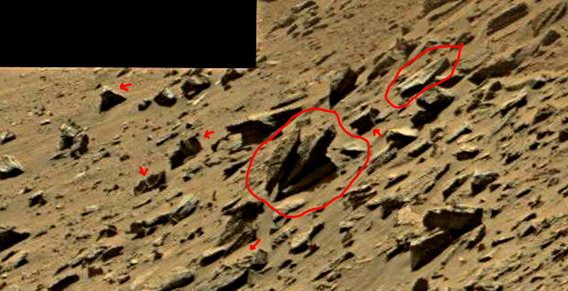 mars sol 1434 anomaly artifacts 14 was life on mars