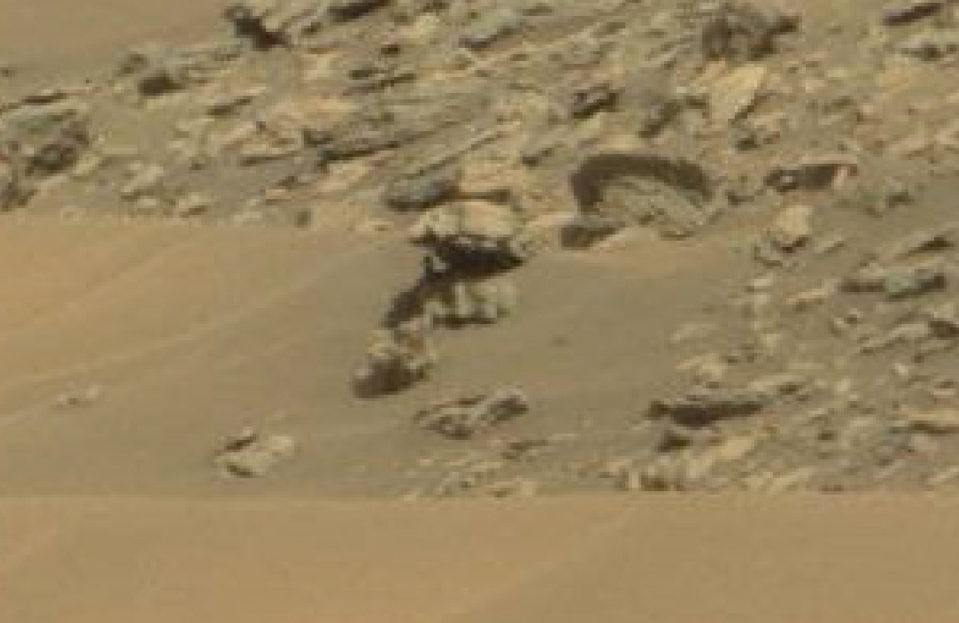 mars sol 1434 anomaly artifacts 16 was life on mars