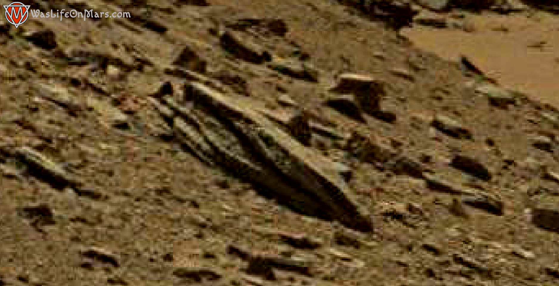 mars sol 1434 anomaly artifacts 1a1 was life on mars