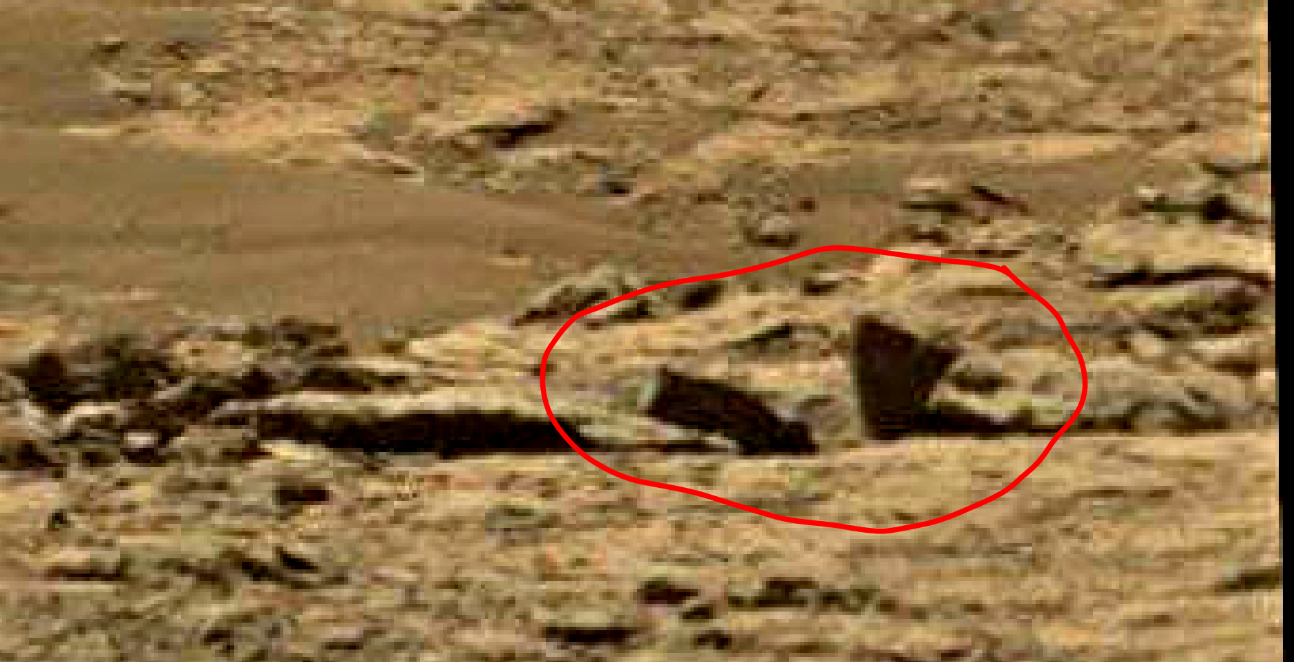 mars sol 1434 anomaly artifacts 2a was life on mars