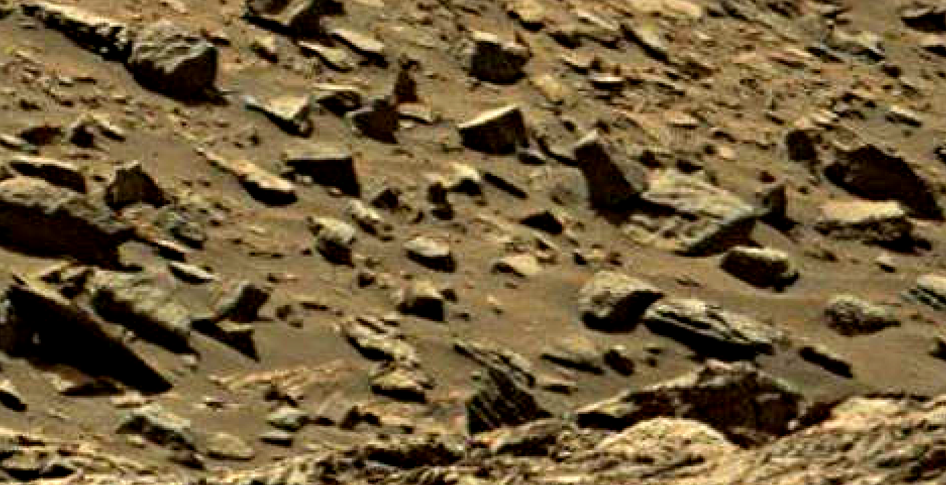 mars sol 1434 anomaly artifacts 6 was life on mars