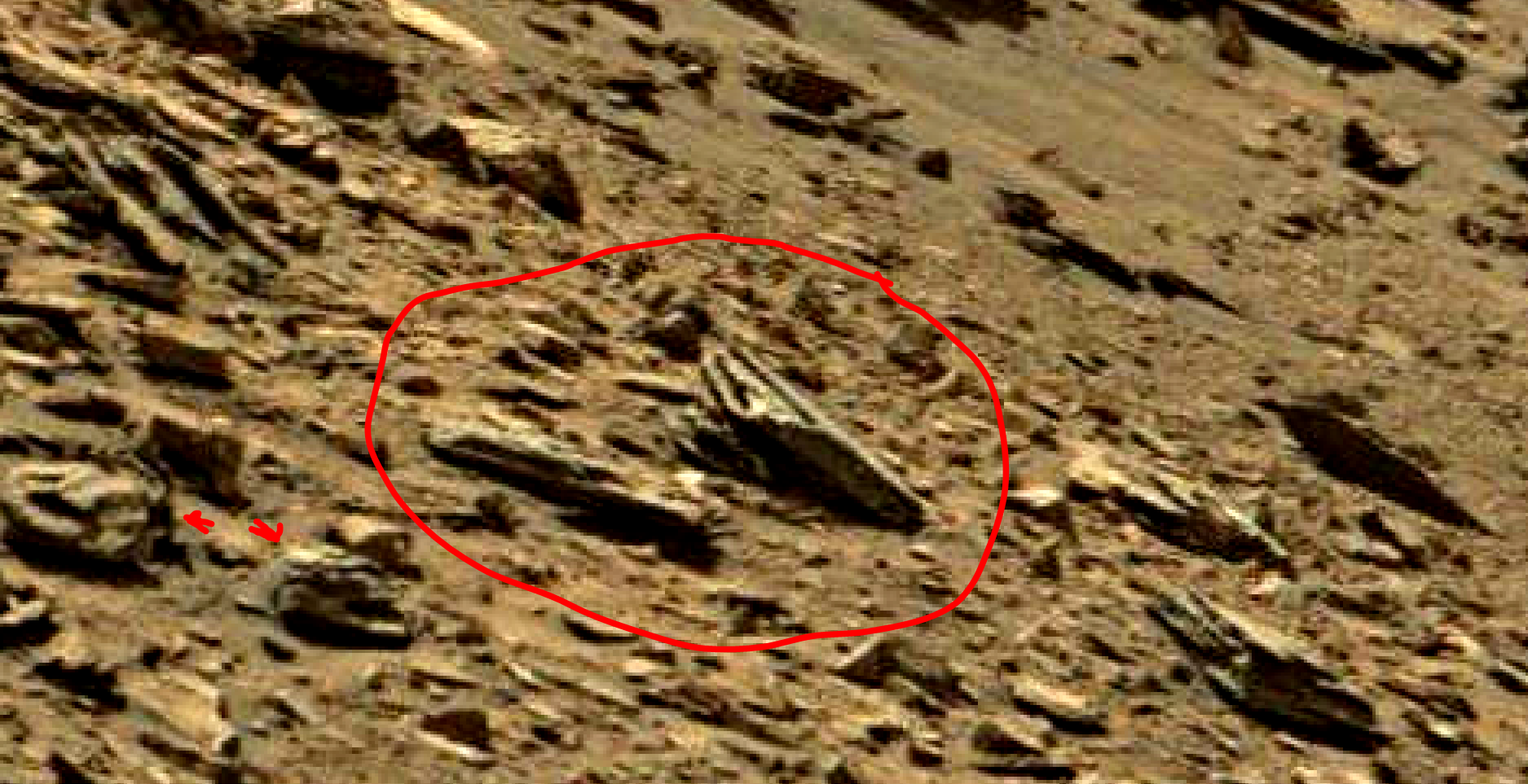 mars sol 1434 anomaly artifacts 7 was life on mars