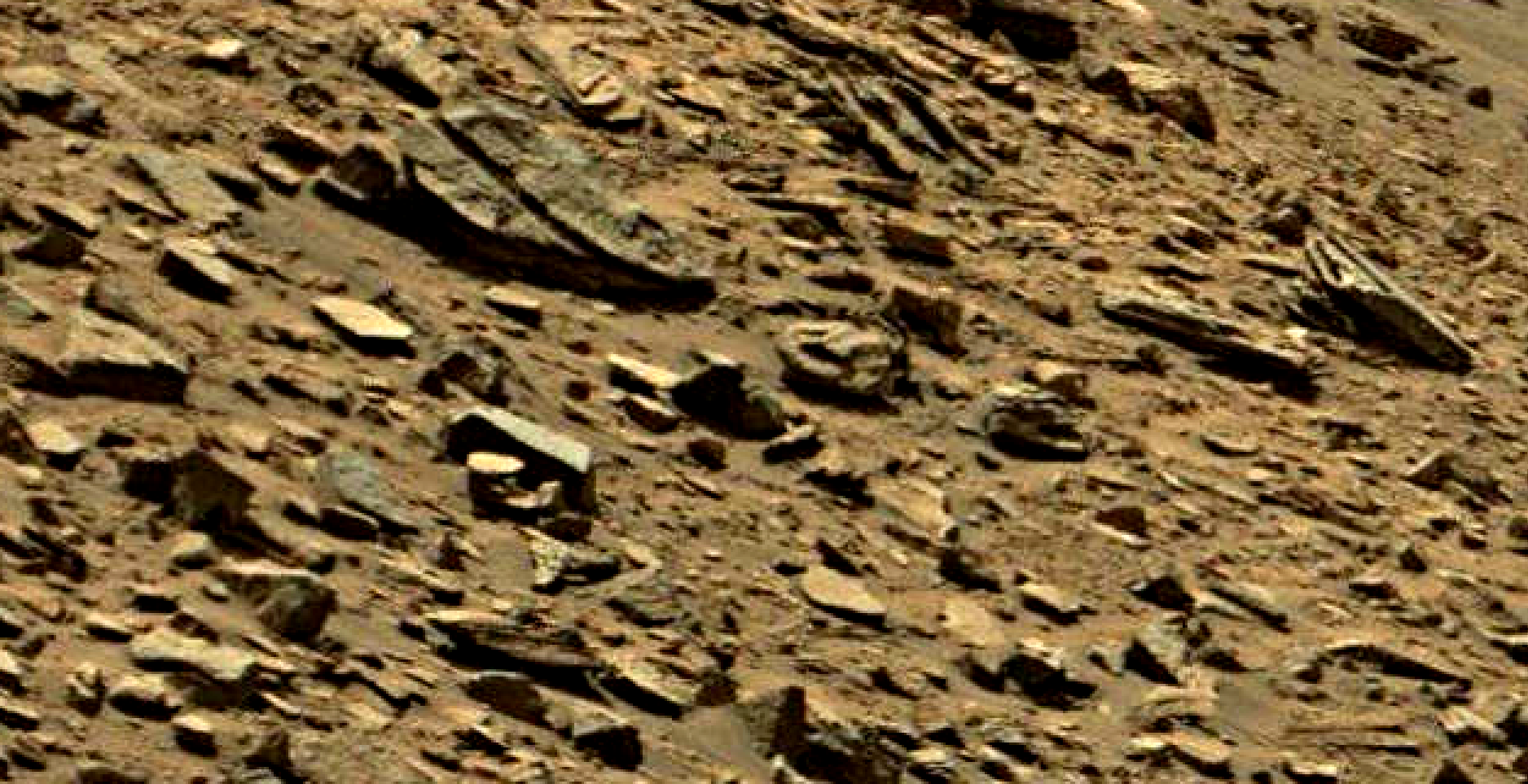 mars sol 1434 anomaly artifacts 8 was life on mars