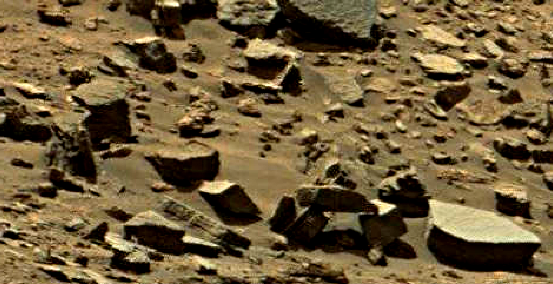 mars sol 1434 anomaly artifacts 9 was life on mars