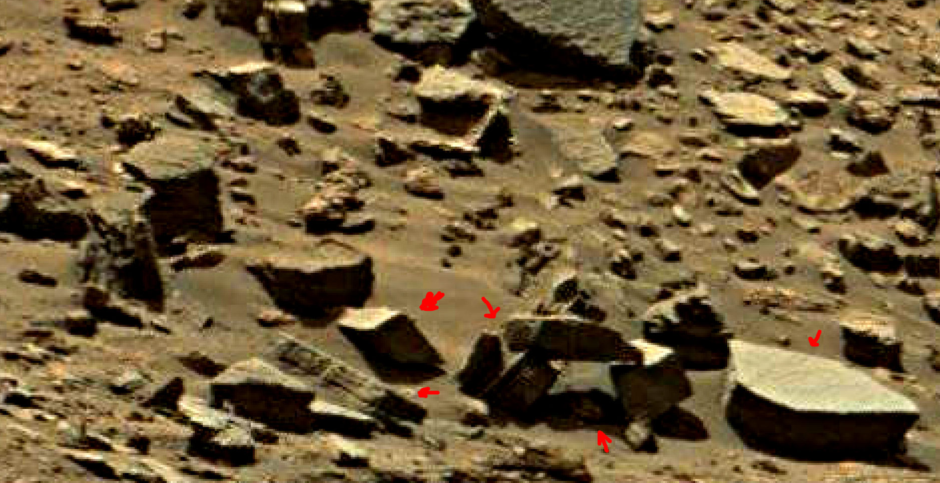 mars sol 1434 anomaly artifacts 9a was life on mars