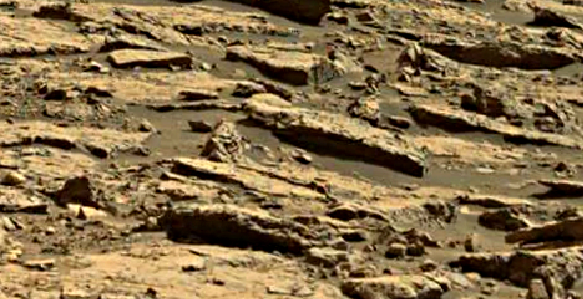 mars sol 1435 anomaly artifacts 2 was life on mars