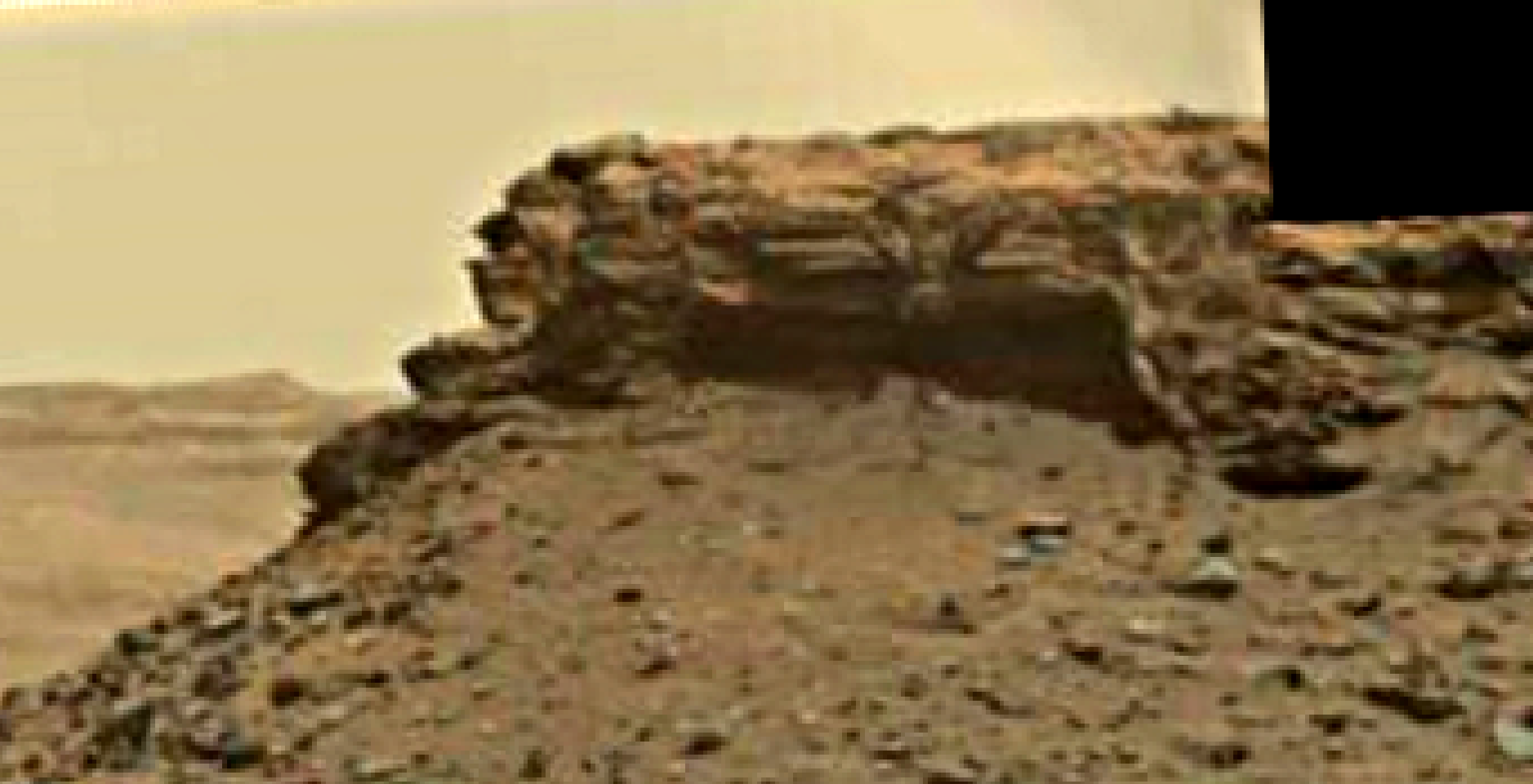 mars sol 1438 anomaly artifacts 2 was life on mars