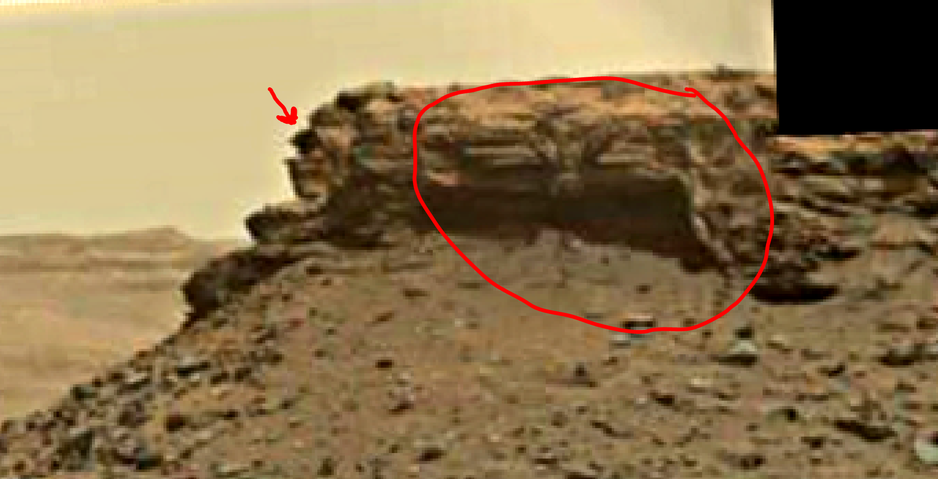 mars sol 1438 anomaly artifacts 2a was life on mars