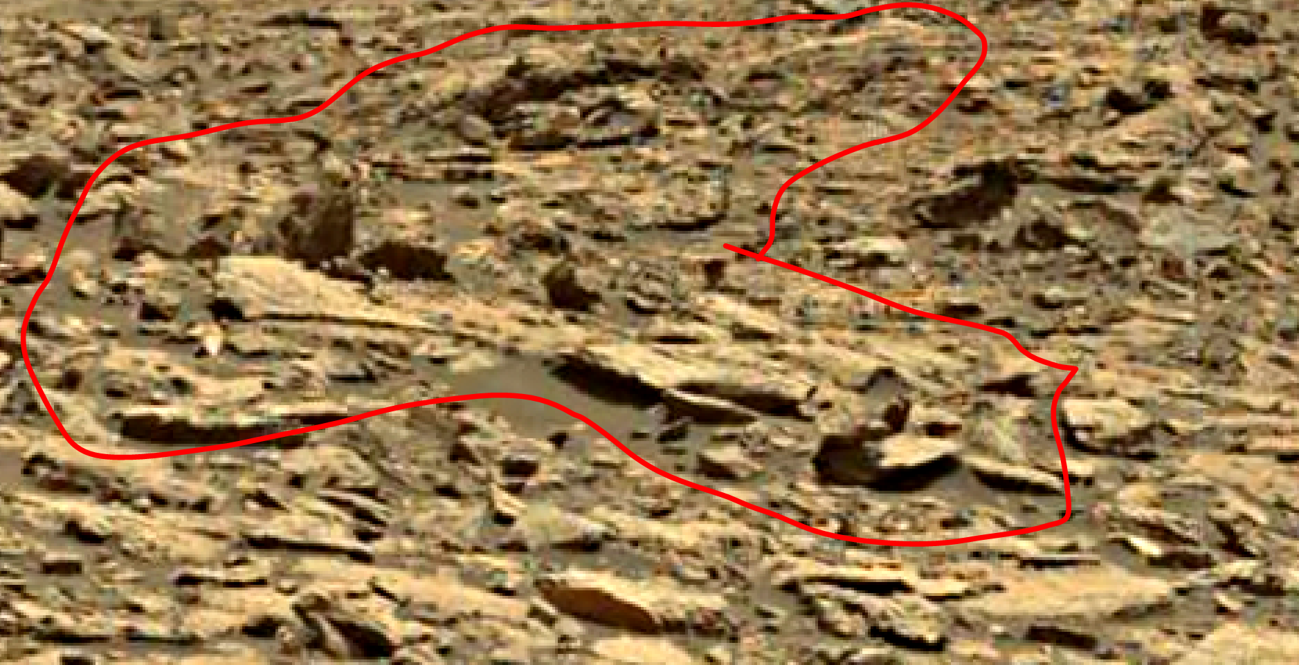 mars sol 1438 anomaly artifacts 3a was life on mars