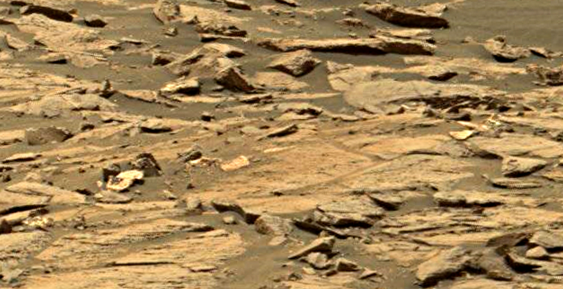 mars sol 1447 anomaly artifacts 1 - was life on mars