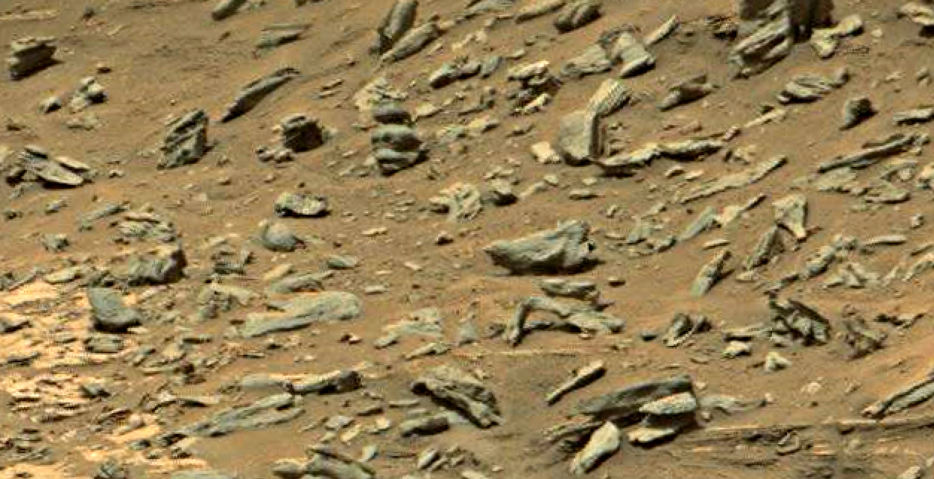 mars sol 1447 anomaly artifacts 13 - was life on mars