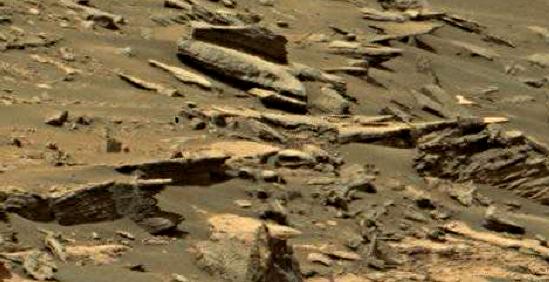 mars sol 1447 anomaly artifacts 2 - was life on mars