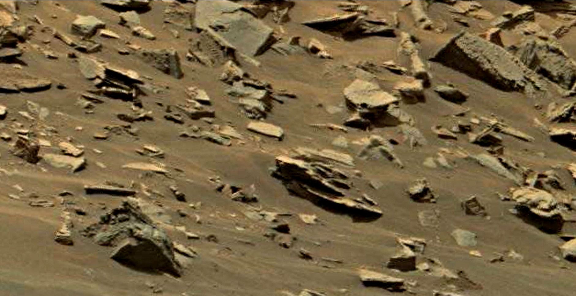 mars sol 1447 anomaly artifacts 4 - was life on mars