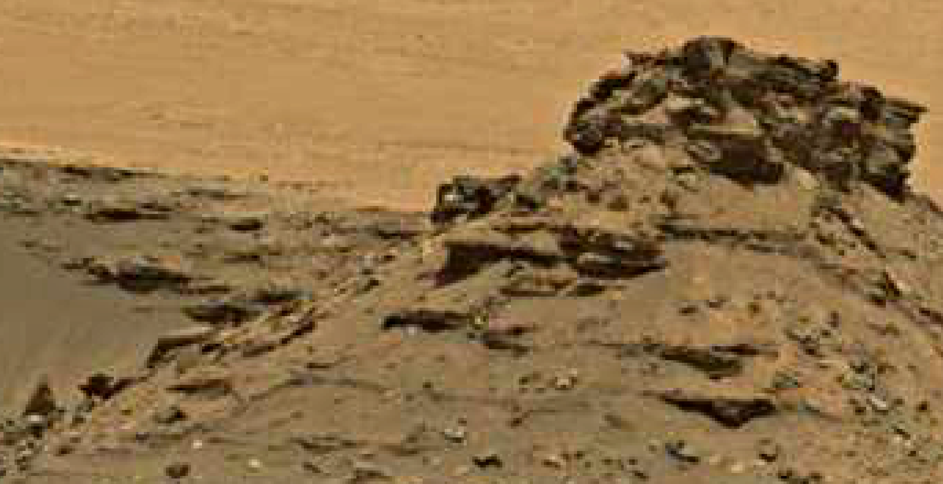 mars sol 1447 anomaly artifacts 5 -bird-plane-butte - was life on mars