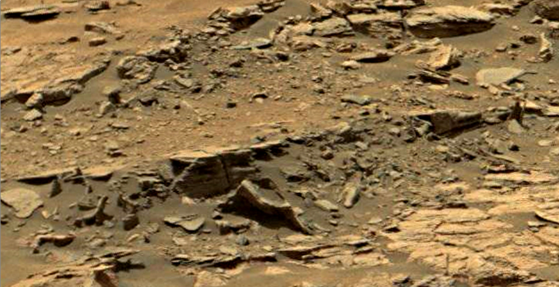 mars sol 1447 anomaly artifacts 6 - was life on mars