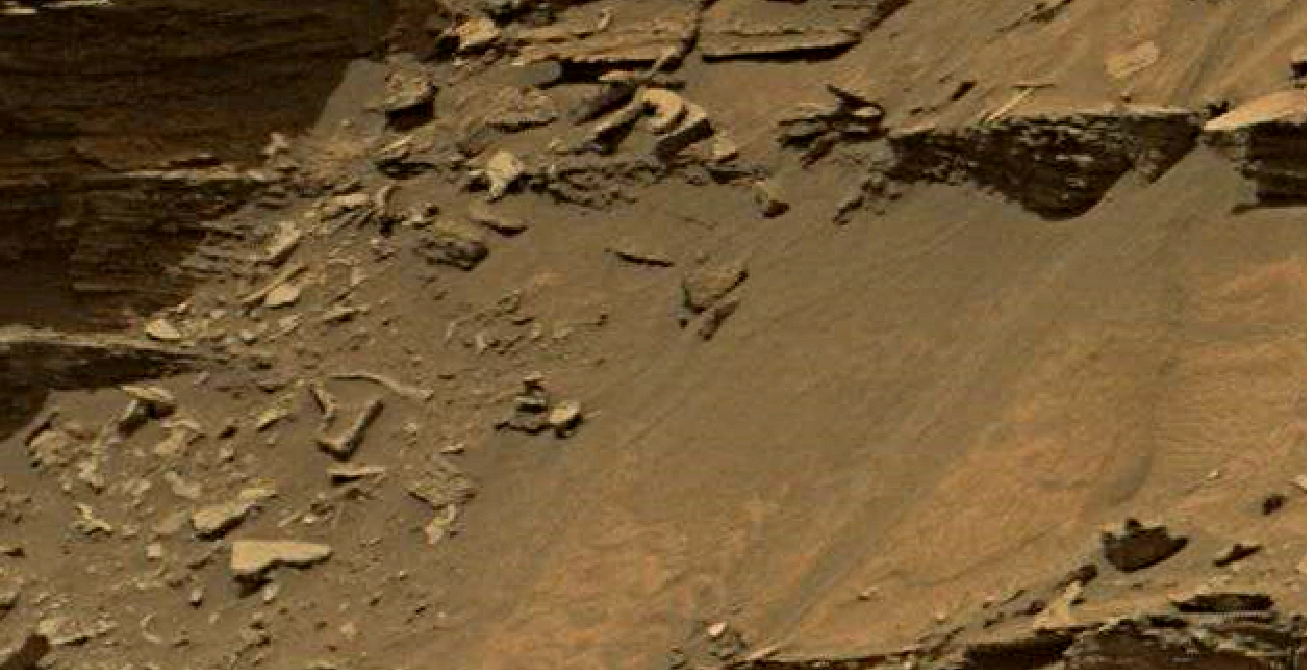 mars sol 1447 anomaly artifacts 8 - was life on mars