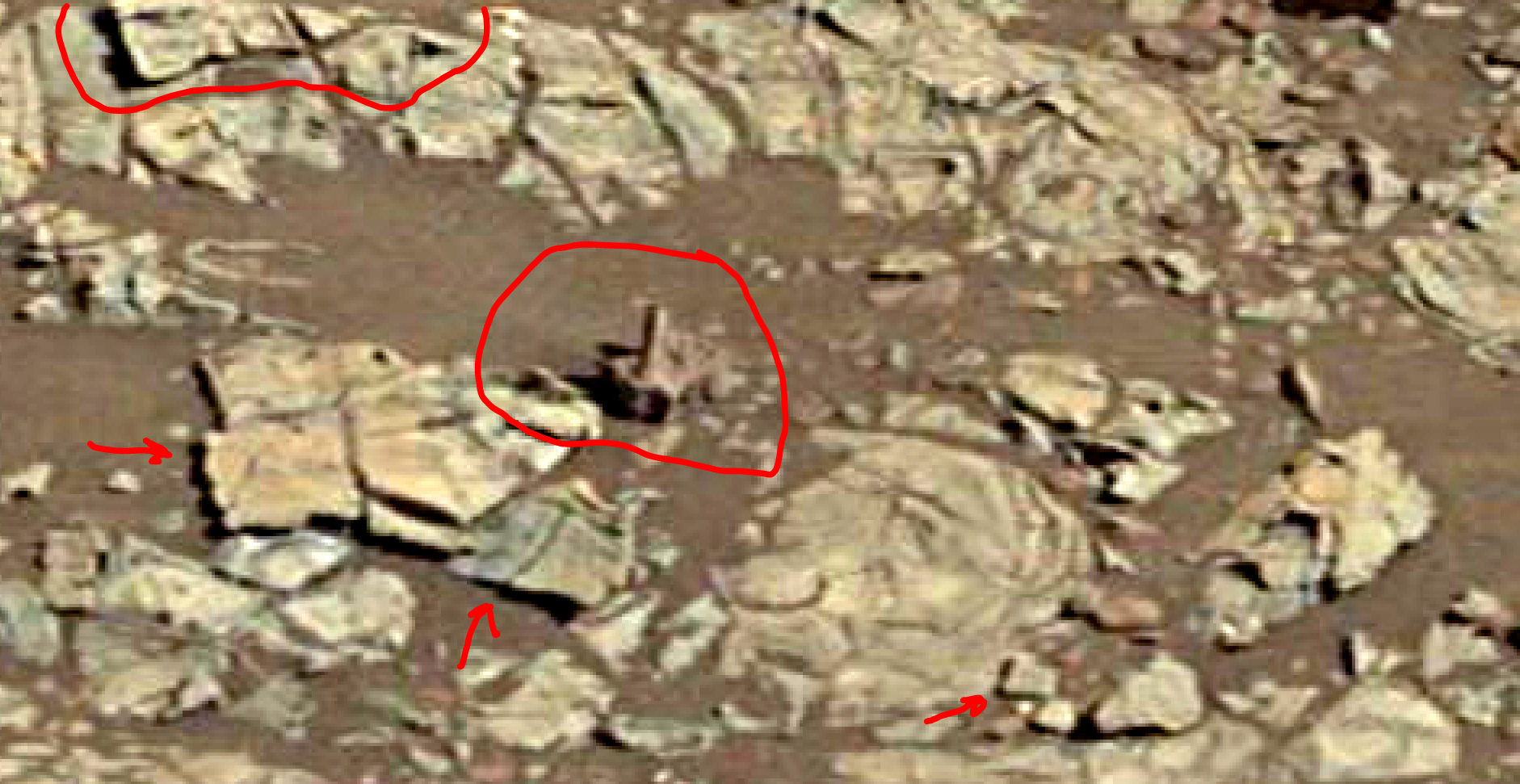See Photos With 2018 Photos: Mars Sol 1922 – Composite View & Anomalies